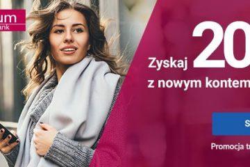 200 zł za założenie konta millenium